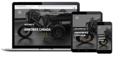 Web design AnnoBike Canada